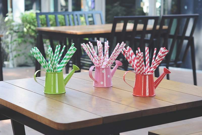 what are paper straws used for