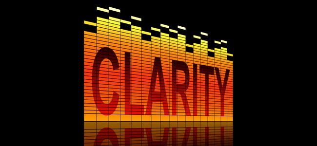 Audio clarity