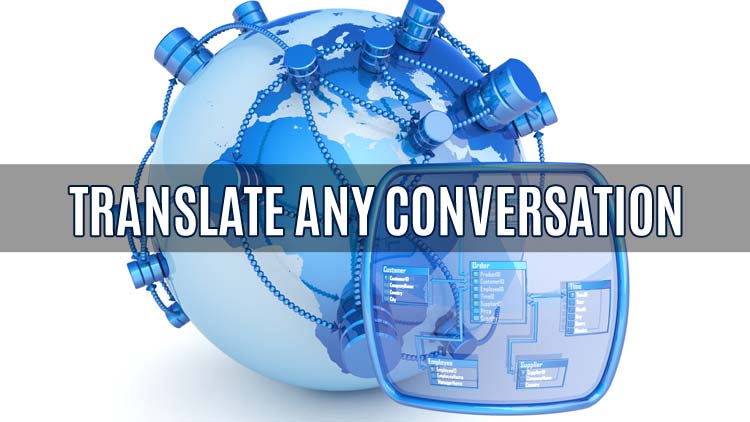 how do you translate a conversation