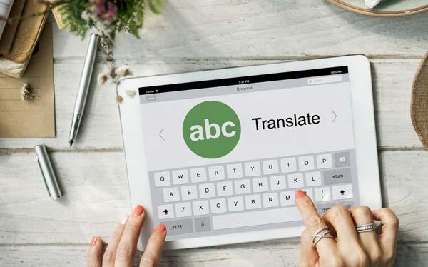 translate language