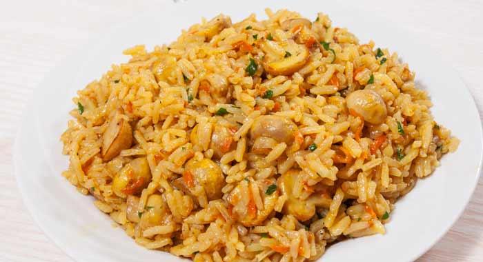 prepare dish for yellow rice recipes