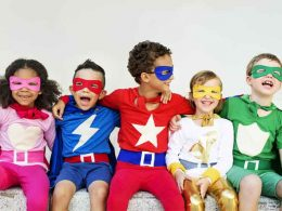 what are superhero costumes made of