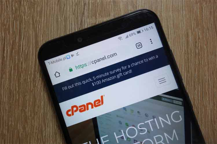 How do I Get to my cPanel on my website