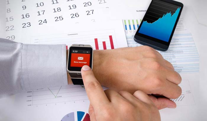 Smartwatches provide the convenience