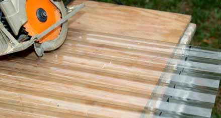 Install PVC Roofing Panels