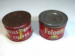 What are Metal cans Coated with