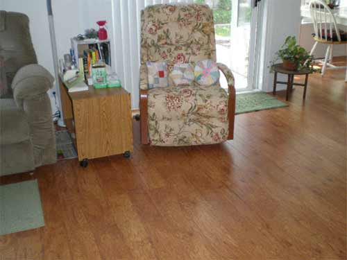 How do you need to mop laminate flooring