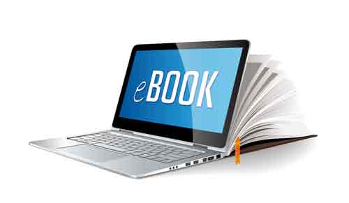 How does am eBook website look like