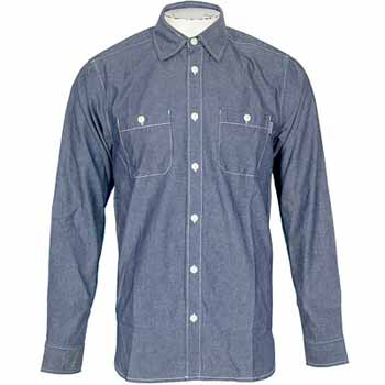 Orvis organic cotton long-sleeved crew neck tee