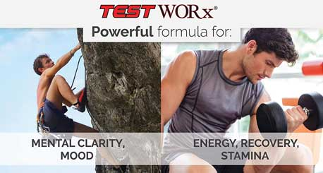 Top Selling Testosterone Booster Supplement – Test Worx   – 6 Week Cycle – Made In The USA – Ingredients Proven In Human Trials To Improve Athletic Performance