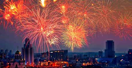 View San Francisco Fireworks from Vista Points: Twin Peaks, Marin Headlands, Treasure Island