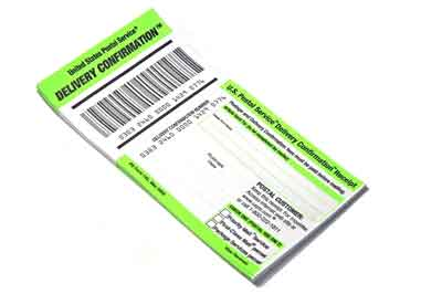 The importance of saving your tracking number